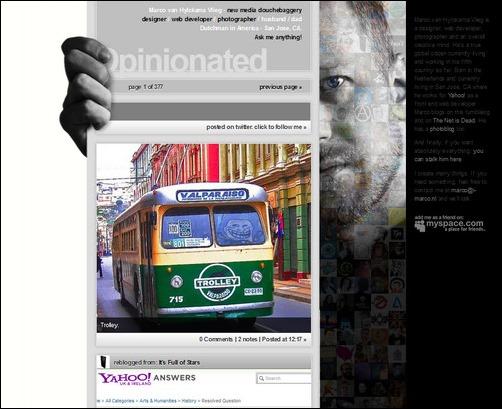 Opinionated Creative Tumblr Blog Designs
