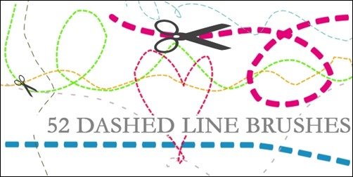 dashed-line-brushes
