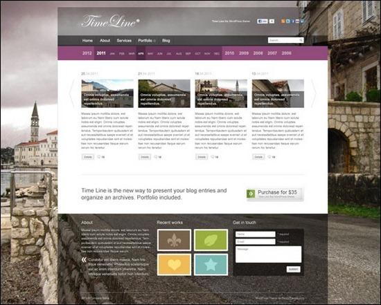 homepage-for-timeline-website