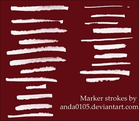 marker-strokes-brushes