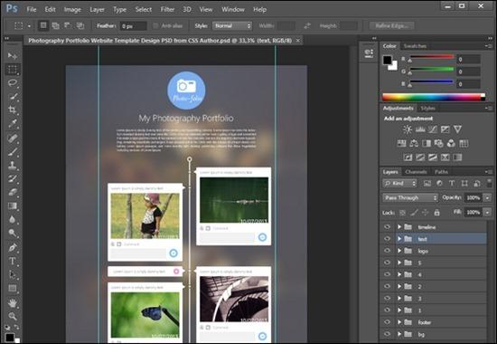 portfolio-website-psd-templates