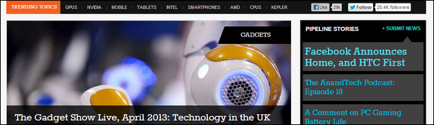 45 Serious Technology Websites for Your Inspiration
