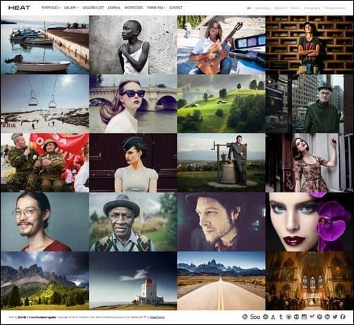 067 WordPress masonry theme
