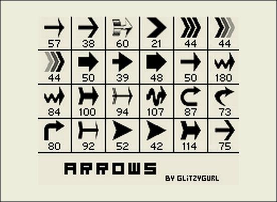 arrows-brushes-by-glitzygirl[3]