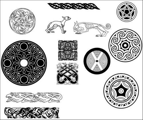 celtic-design-brush