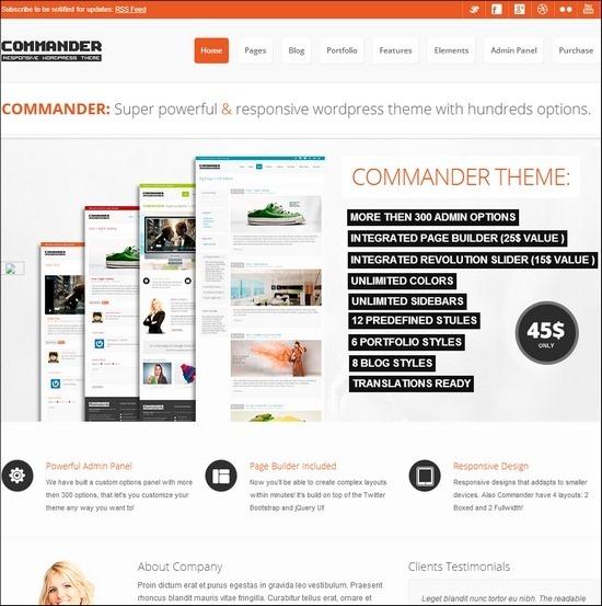 commander-responsive-theme