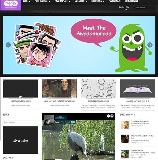 frenzy-responsive-theme