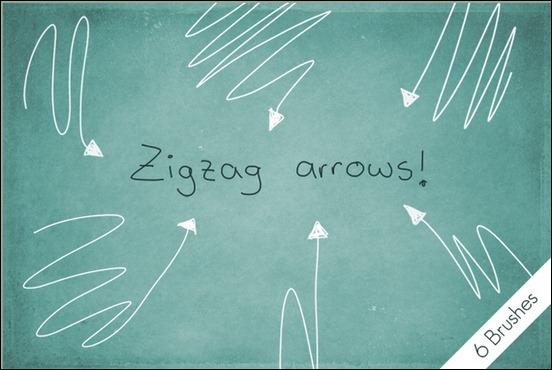 zigzag-arrows