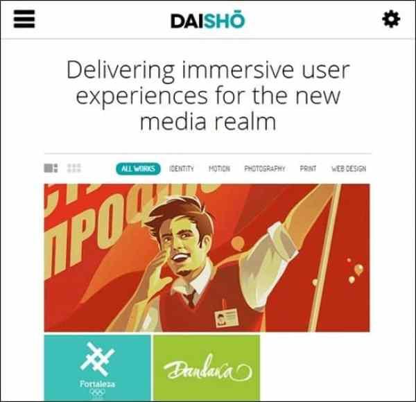 Daisho – Flexible WordPress Portfolio Theme