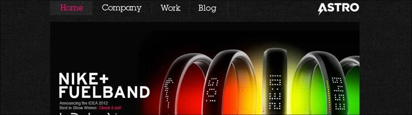 60+ Dark Portfolio Websites – Intense Web Design Inspiration
