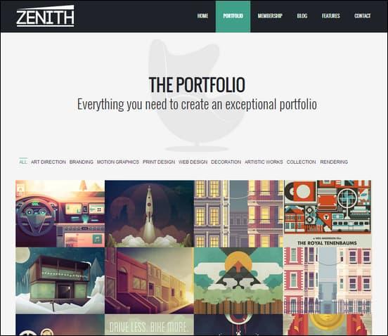 zenith-ultimate-portfolio-theme