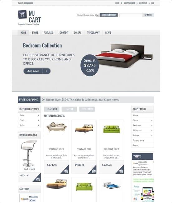 Mj-Cart-Responsive-Virtuemart-Template