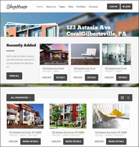 ShopHouse - Responsive HTML5 Template