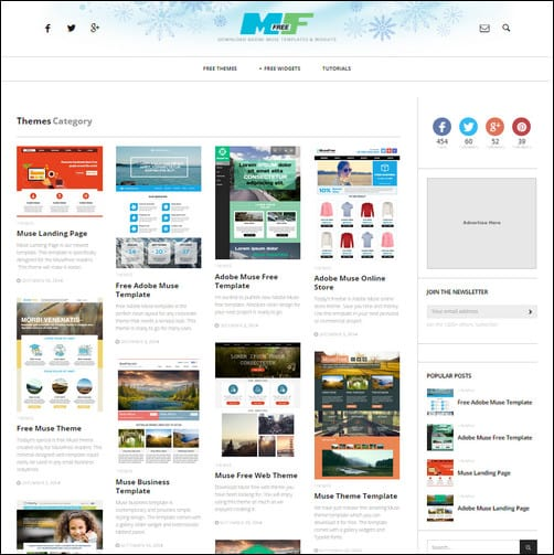 free muse themes