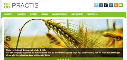 15+ Free WordPress Themes Released in September 2013