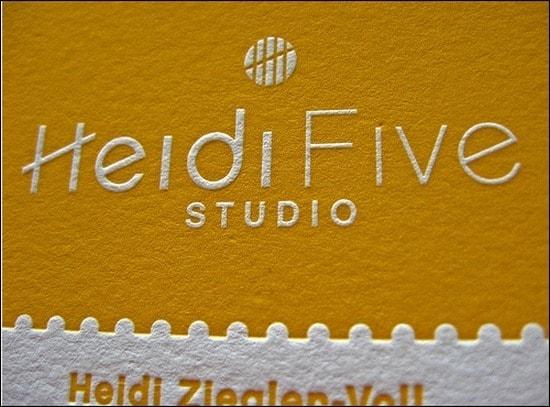 HeidiFiveStudioBusinessCards