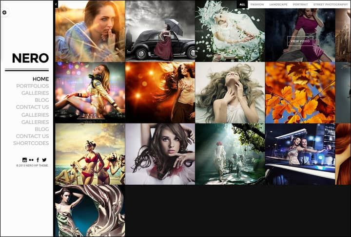 nero-responsive-portfolio-photography-theme