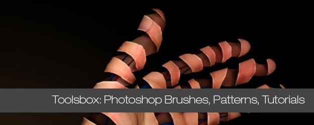 75+ Photoshop Effects, Brushes, Patterns, Tutorials