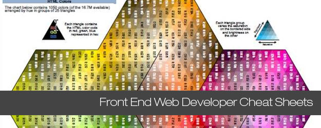40+ Essential Front End Web Developer Cheat Sheets