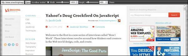 Examples of Great Responsive Website Design