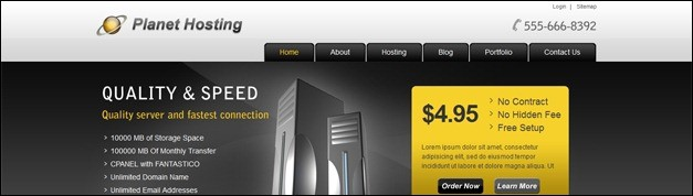 35+ Great Web Hosting Templates For Professional Web Hosting Websites