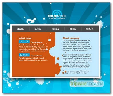 Graphic-Design-Studio-Web-Layout