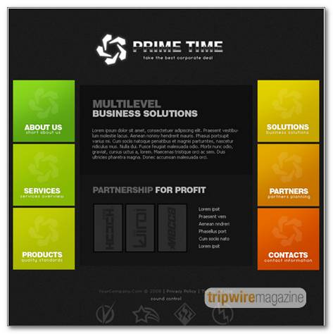 creating-business-style-template-design