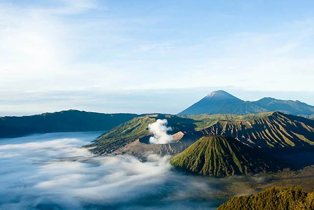 Catching The Surreal Sunrise On Mount Bromo Indonesia