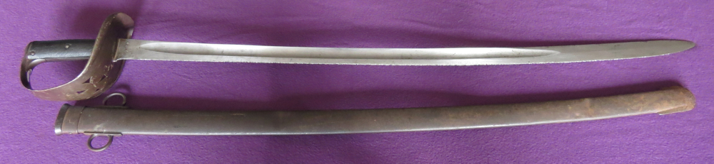 P-1885 British cavalry trooper's sabre (Item T-2013-002)