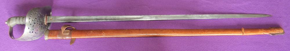 P-1897 British infantry officer's sabre (GRVI) (Item T-2016-008)