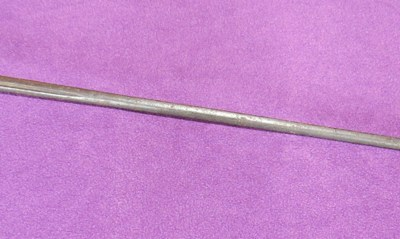 Mid-18th century British civilian smallsword (Item T-2016-017)