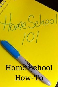Home School How-To pin