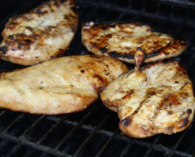 Dr. Pepper Marinated Chicken Breasts