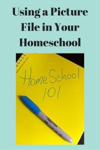 Using a Picture File in Your Homeschool