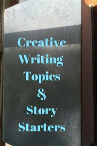 CreativeWriting Topics&StoryStarters pin