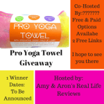 Blogger Opp – Limber Stretch Hot Yoga Towel Giveaway