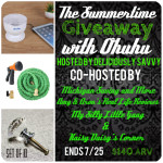 The Summertime Giveaway with Ohuhu!  Ends 7/25.  ENDED