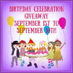 Birthday Celebration #Giveaway #BCG915 @las930 Ends Sept. 30 ENDED