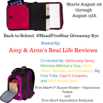 Back to School @MeadFiveStar #Giveaway Aug. 1 – 15 ENDED