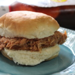 Barbecue Shredded Chicken Sandwiches