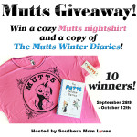 Mutts #Giveaway Ends Oct. 12 ENDED