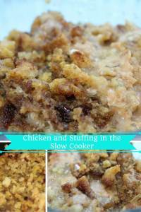 Chicken and Stuffing in the Slow Cooker