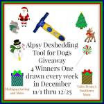 ALPSY Group Deshedding Tool #Giveaway Ends Dec. 25 ENDED