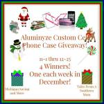 Aluminyze Custom Cell Phone Case #Giveaway Ends Dec. 25