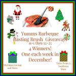 Yumms! Barbecue Basting Brush #Giveaway Ends Dec. 25 ENDED