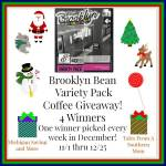 Brooklyn Bean Variety Pack Coffee #Giveaway Ends Dec. 25 ENDED
