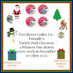 Two Rivers Coffee Co. Friendly's Variety Pack #Giveaway Ends Dec. 25