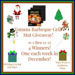 Yumms! Barbeque Grill Mat #Giveaway #GTG2015 Ends Dec. 25