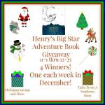 Henry's Big Star Adventure Book #Giveaway #GTG2015 Ends Dec. 25 ENDED