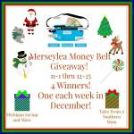 Merseylea Money Belt #Giveaway Ends Dec. 25 ENDED